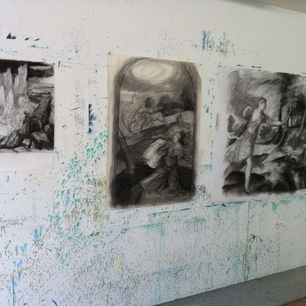 charcoal drawings 2015